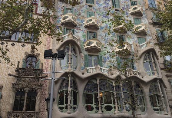 Barcelona-Antoni Gaudi