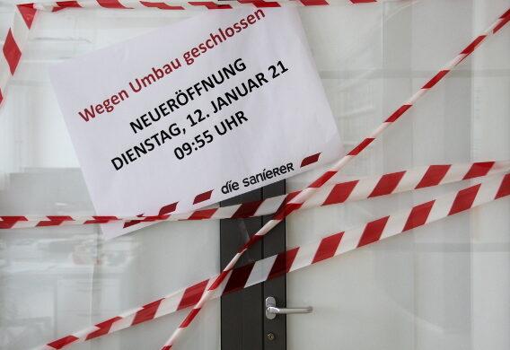 Grosser Büro-Umbau