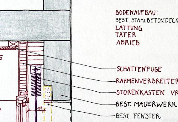 Detail-Zeichnungen