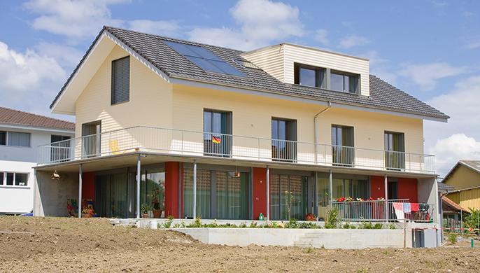 Minergie-P-Haus in Rickenbach