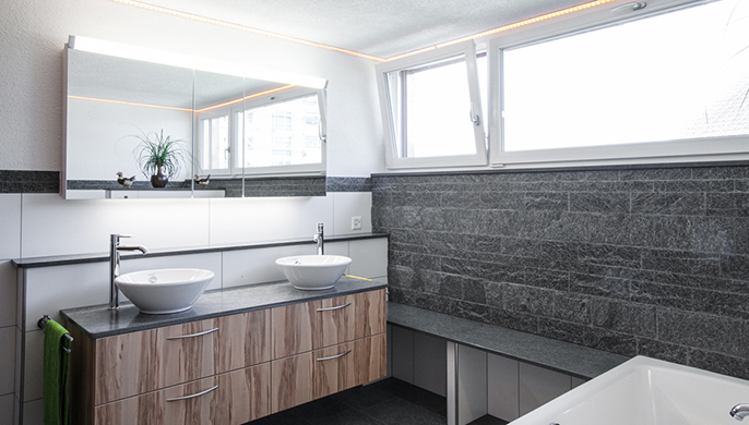 Umbau Badezimmer in Beromünster