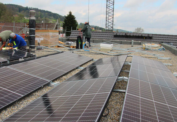 Bodenheizung & Photovoltaikanlage