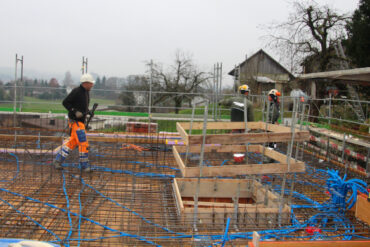 Baustellenpraktikum in Pfeffikon